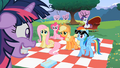 Main 5 ponies looking at worried Twilight S02E03.png