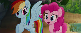 Pinkie Pie -but they're always hungry- MLPTM