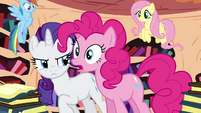 Pinkie Pie interrupts S4E01