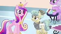 Princess Cadance and Crystal Pony messenger S03E12