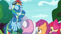 "Rainbow Dash ""it's also a responsibility"" S9E22"