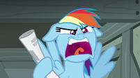 "Rainbow Dash ""that doesn't explain anything!"" S7E18"