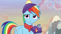 Rainbow Dash feeling sorry for Discord MLPBGE