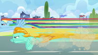 Rainbow and Lightning flying fast 5 S3E07