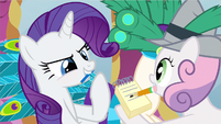 Rarity getting ideas S2E23
