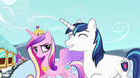Shining Armor 'Maybe she'll let you retake it' S3E2