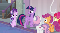 Starlight joins Twilight and the Crusaders S8E12