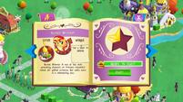 Sunset Shimmer album page MLP mobile game