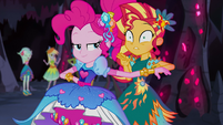 Sunset very shocked by Pinkie Pie's thoughts EG4b