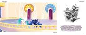 The Art of MLP The Movie page 30-31 - Canterlot Castle balcony