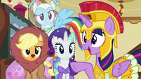 Twilight -you were the one doing the scaring!- S5E21