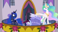 Twilight Sparkle falls over on the floor S9E26