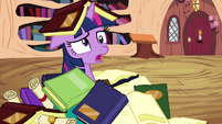 Twilight dizzy from flying S4E01