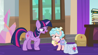 Twilight isn't mad at Cozy Glow S8E25
