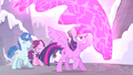 Twilight protects the village ponies S5E2.png