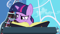 Twilight reading Elements of Harmony passage S1E01