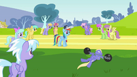 Weightlifting with Pegasi on track S02E22