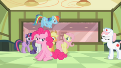201px-Nurse Redheart throwing out Pinkie S2E13