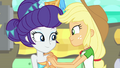 AJ puts her hands on top of Rarity's EGROF.png