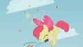 Apple Bloom hitting the apple S1E12.png