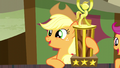 "Applejack ""the best rodeo clown I ever seen!"" S5E6.png"