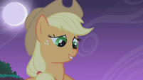 Applejack -What I'm sayin' to you is the honest truth- S1E02