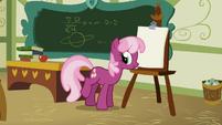 Cheerilee começando a aula T1E12