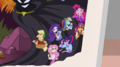 Close-up of Mane Seven on Daring Do posterboard EGS3.png