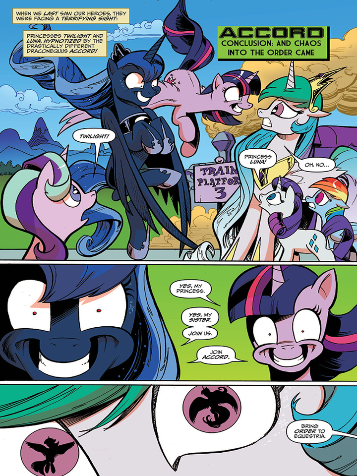 Image Comic Issue 50 Page 1 Jpg My Little Pony