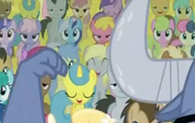 Derpy in the Crowd S2E19 closeup