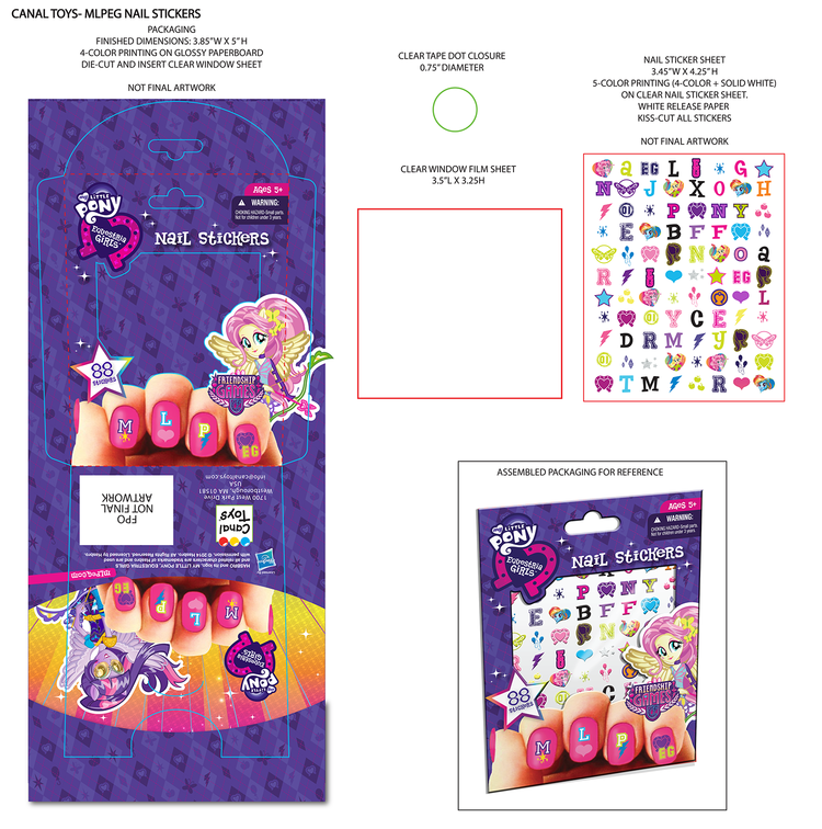 Eg friendship games canal toys mlpeg nail stickers png