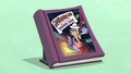 First edition Daring Do book with blue background S4E22.png