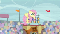 "Fluttershy ""Quibble's wide open"" S9E6"
