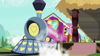 Friendship Express releasing steam S8E6