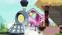 Friendship Express releasing steam S8E6