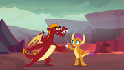 Garble and Smolder do special greeting S9E9