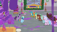 None of the Young Six raise their hand S8E16