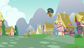 Nut cart goes flying toward Trixie S7E2.png