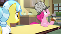 Pinkie Pie asking Dr. Fauna about Tank S7E23.png