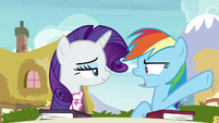 "Rainbow Dash ""how hard is that?!"" S8E17"