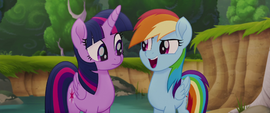 "Rainbow Dash ""we're in this together"" MLPTM"