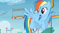 Rainbow Dash flying in Rainbow Falls S4E10.png
