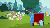Rarity, Sweetie Belle, and fillie