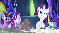 "Rarity ""where we were almost sold"" S8E1"