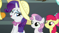 Rarity --don't worry, Fluttershy-- S6E7