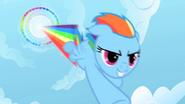 S01E16 Rainbow wykonująca Ponandźwiękowe Bum