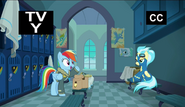 S06E24 Rainbow Dash rozmawia z Misty Fly