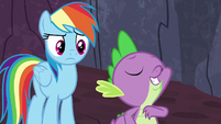 "Spike ""friendship ambassador to the dragons"" S7E25"
