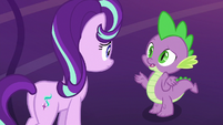 "Spike ""well, nopony does"" S7E26"
