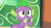 Spike hears Twilight S6E2